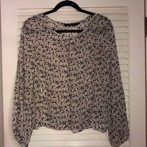 ark & co chiffon blouse